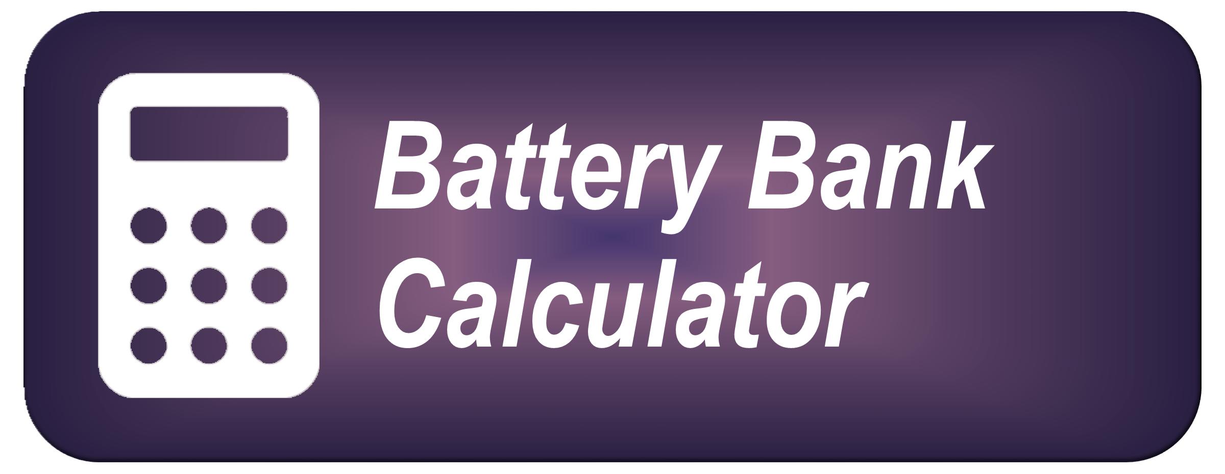 Battery Bank Calculator
