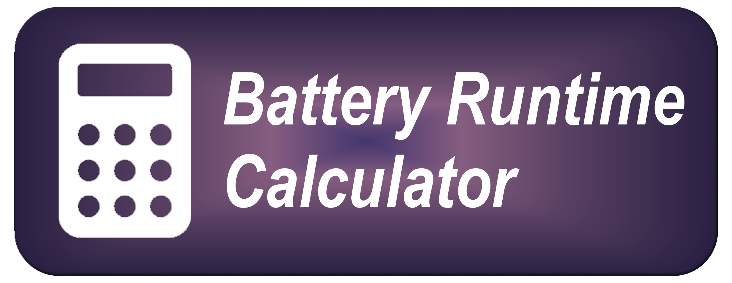 Battery Runtime Calculator