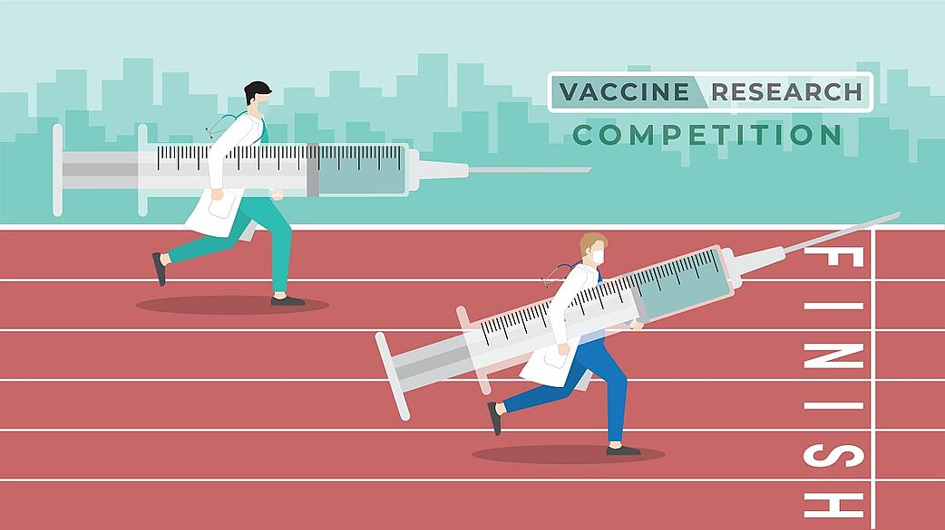 The Covid-19 Vaccine Race