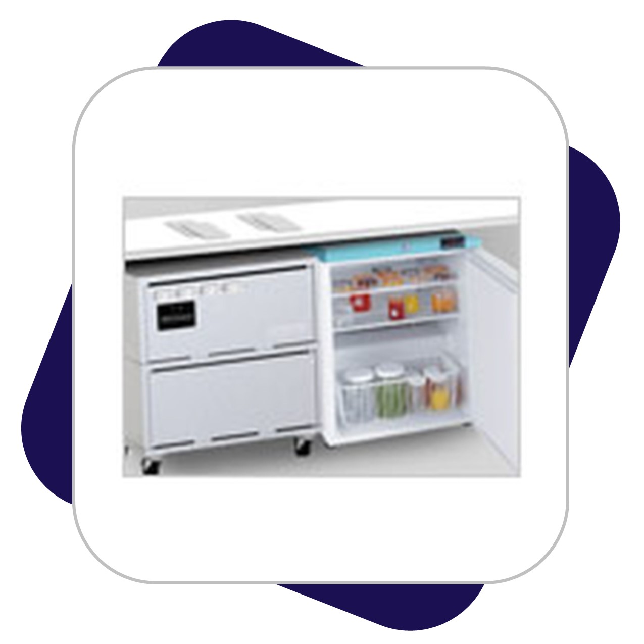 Mobile Refridgerator Battery Backup System